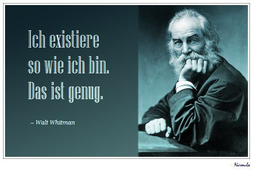 Whitman, genug, Nirmalo,